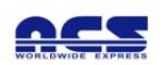 ACS Worldwide Express Tracking