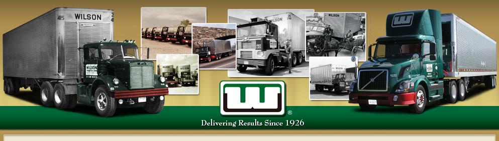 Wilson Trucking Corporation Tracking